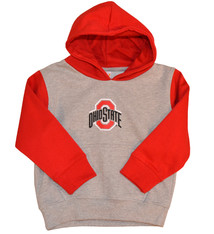 Ohio State University Scarlet & Gray Hoodie