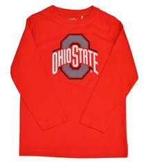 Ohio State Buckeyes Youth Red Long Sleeve