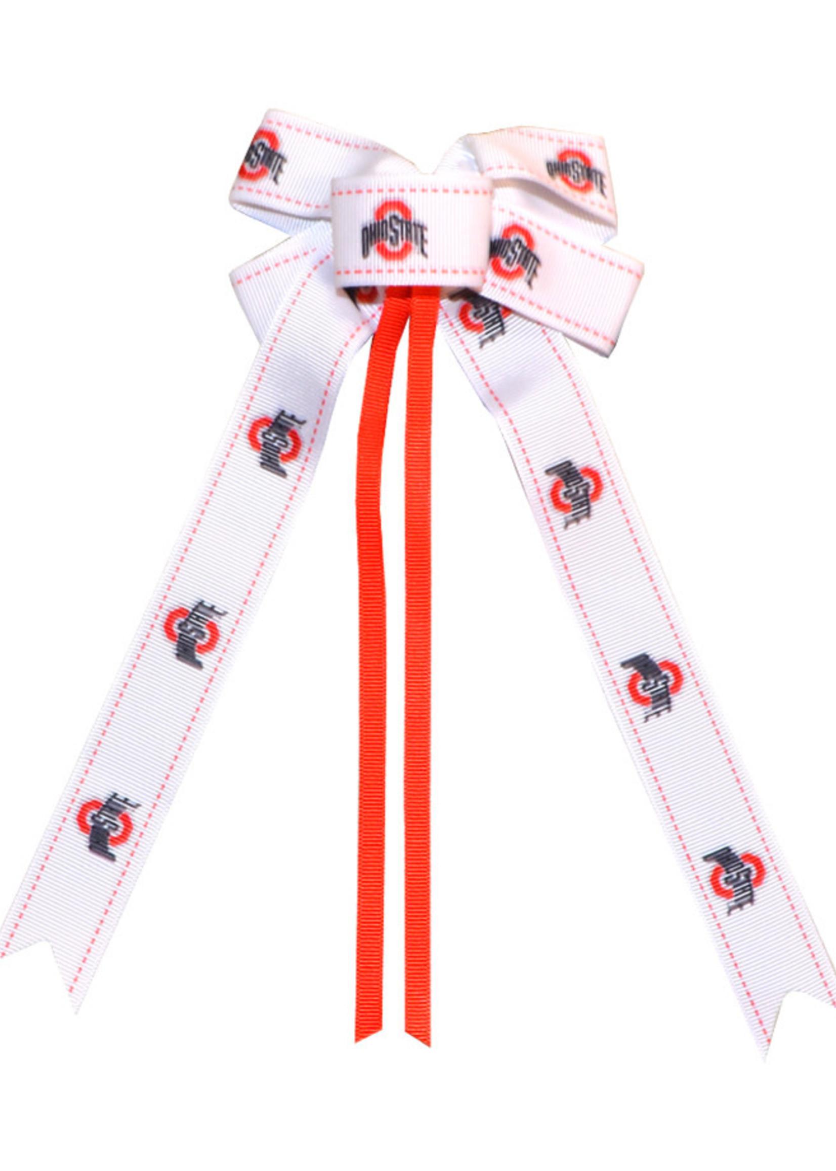 Ohio State Buckeyes Spirit Hair Clip