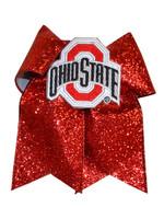 Ohio State Buckeyes Glitzy Cheer Bow