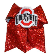 Ohio State Buckeyes Glitzy Cheer Bow