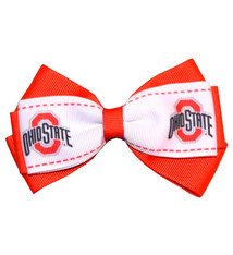 Ohio State Buckeyes Two Tone Hair Clip
