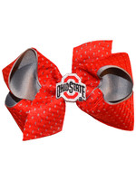 Ohio State Buckeyes Jersey Queen Bow