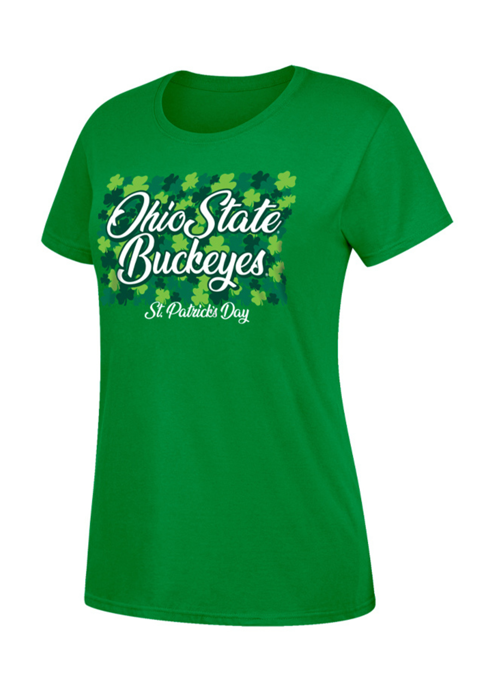 Top of the World Ohio State Buckeyes St. Patrick's Day Shirt - Womens