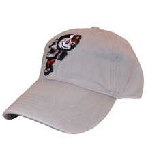 Top of the World Ohio State Buckeyes Brutus Stretch Fit Hat - Gray