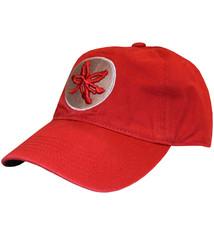 Ohio State University Buckeye Leaf Hat