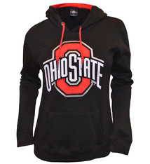 Ohio State Buckeyes Black Athletic O Hoodie - Womens