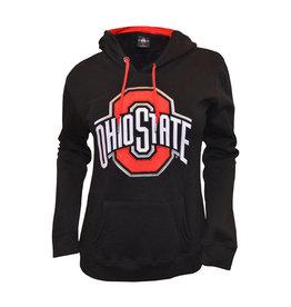 Ohio State Buckeyes Black Athletic O Hoodie - Womens