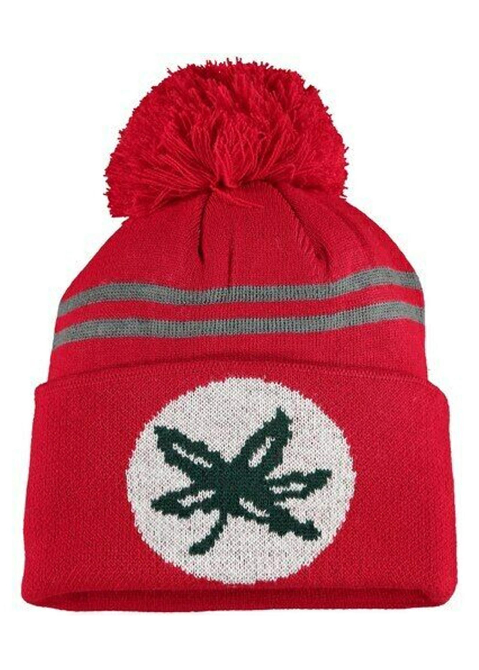 Top of the World Ohio State Buckeyes Scarlet Deepcuff Knit Hat