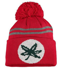Top of the World Ohio State Buckeyes Scarlet Deepcuff Knit Hat