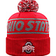 Top of the World Ohio State Buckeyes Red Sparkly Womens Knit Hat