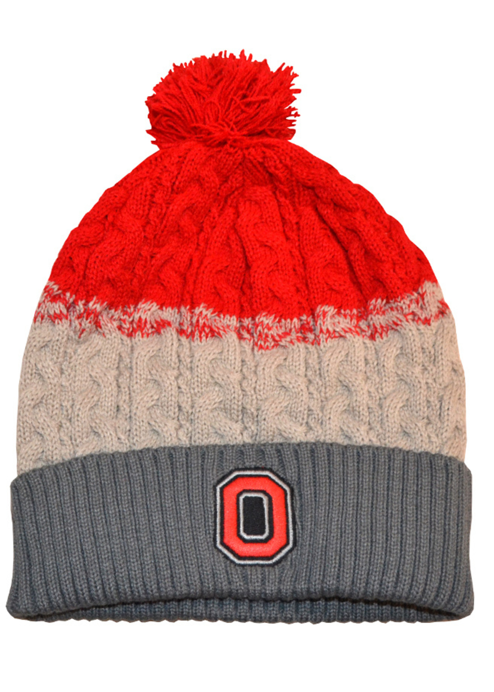 Top of the World Ohio State Buckeyes Womens Knit Hat and Glove Set