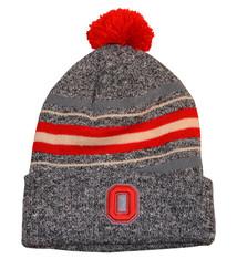 Top of the World Ohio State Buckeyes Gray Stripe Beanie