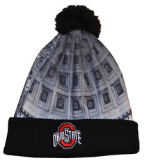 "Top of the World Ohio State Buckeyes ""The Shoe"" Two Sided Winter Hat"