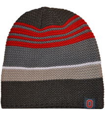 Top of the World Ohio State Buckeyes Three Tone Knit Beanie