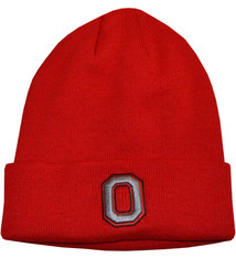 Top of the World Ohio State Buckeyes Two Sided Cuff Knit Hat