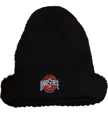 Top of the World Ohio State Buckeyes Fuzzy Cuffed Knit Hat