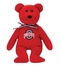 Ohio State Buckeyes Beanie Baby Bear