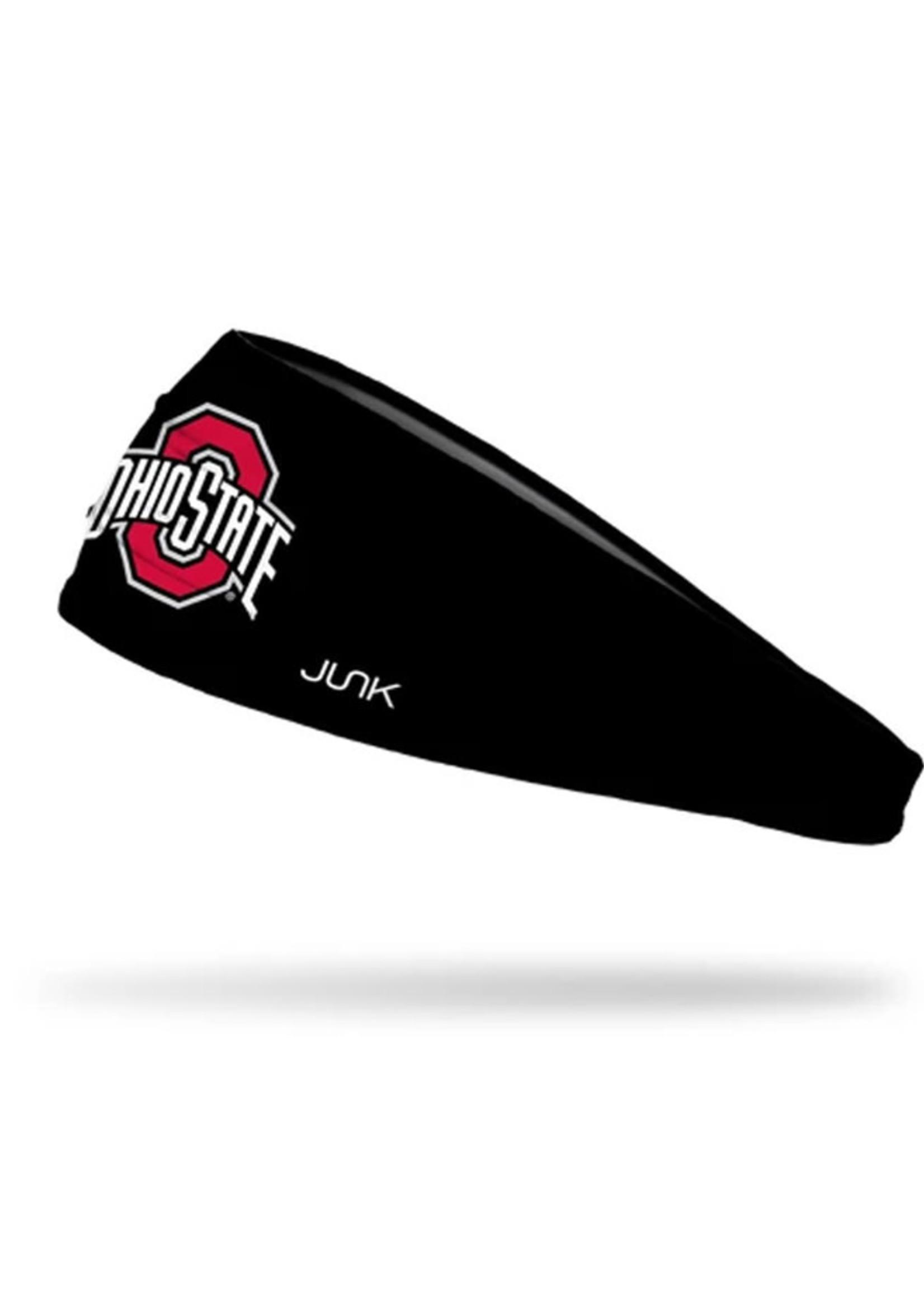 Ohio State Buckeyes Athletic O Black Headband