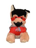 Ohio State Buckeyes Hero Dog Plush