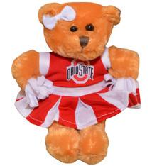 Ohio State Buckeyes Cheerleader Bear