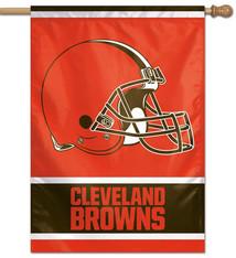 "Wincraft Cleveland Browns Vertical Flag - 28""x40"""