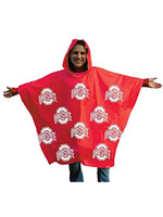 Ohio State University RainMate II Adult Hooded Poncho