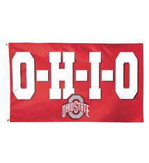 Ohio State Buckeyes Flag 3x5 O-H-I-O