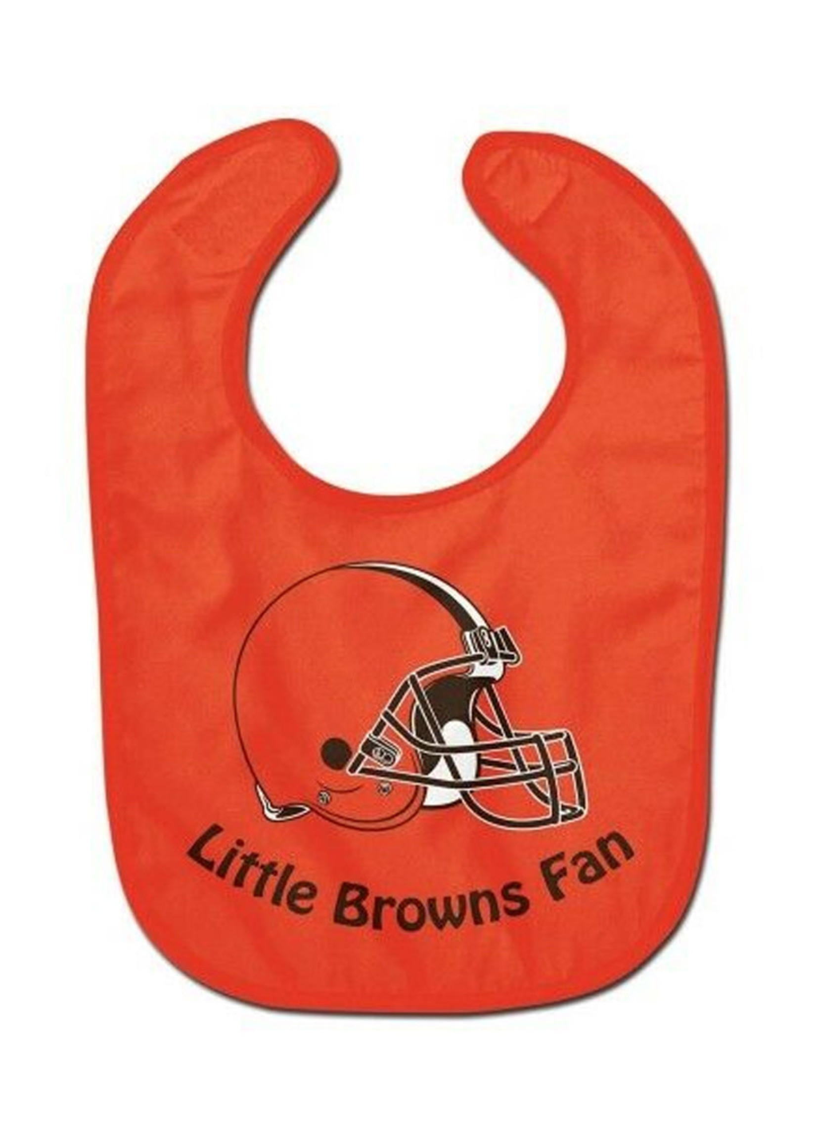 Wincraft Cleveland Browns All Pro Little Fan Baby Bib