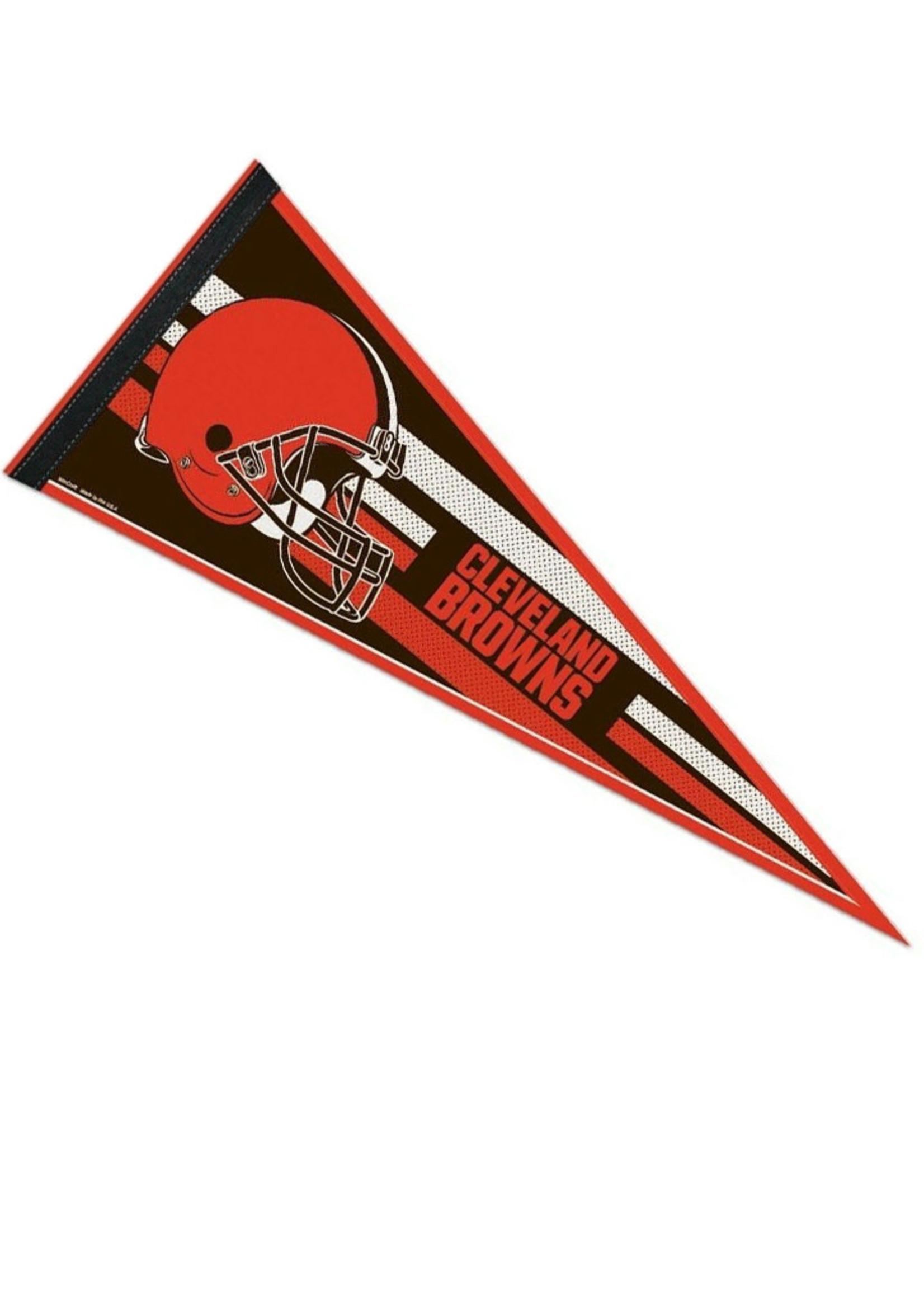 Wincraft Cleveland Browns Striped Felt Pennant