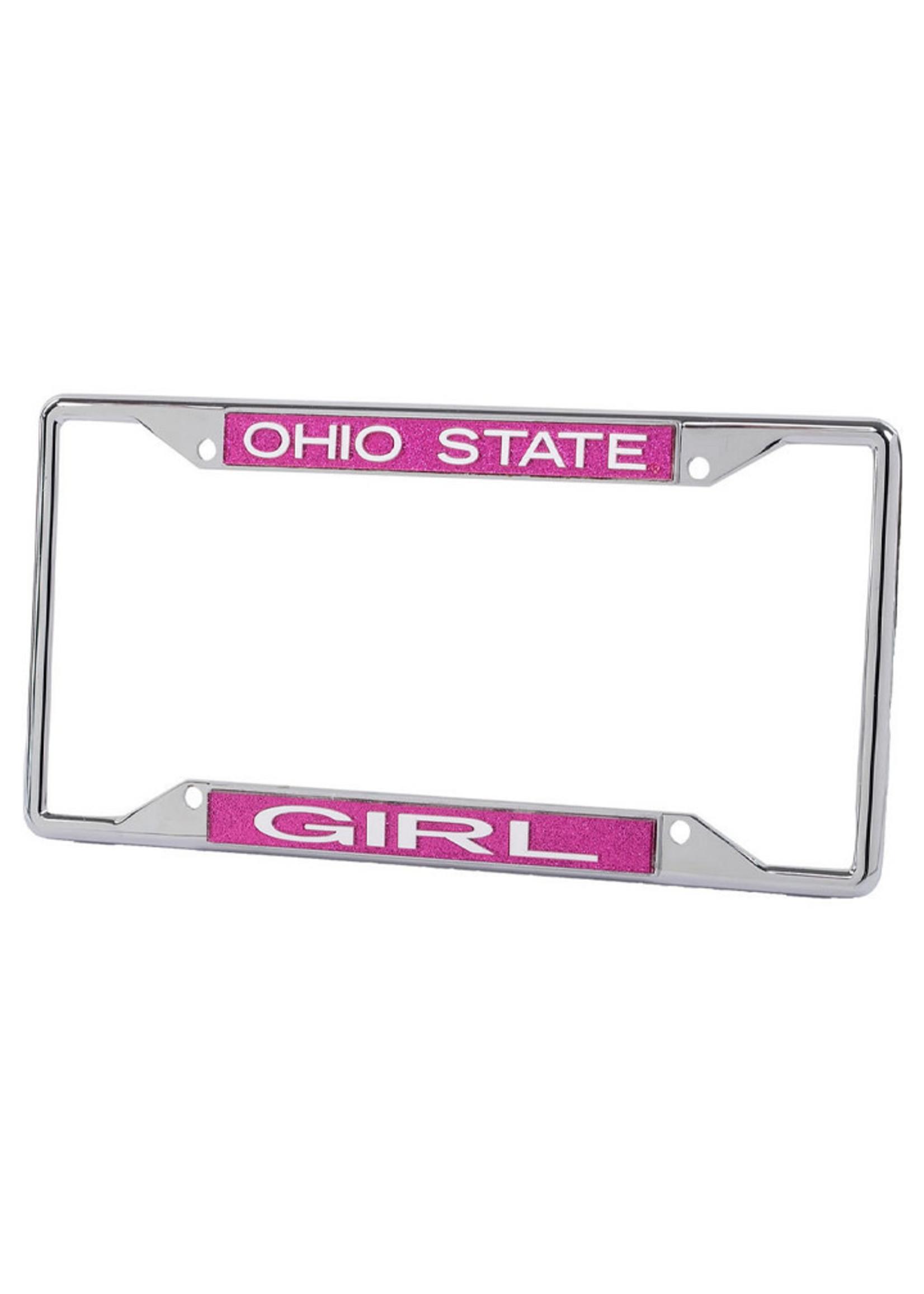 Wincraft Ohio State Buckeyes Girl License Plate Frame
