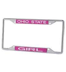 Wincraft Ohio State Buckeyes Girl License Plate Frame