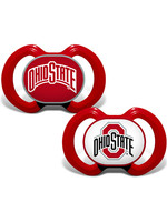 Ohio State Buckeyes Team Logo Baby Pacifier - 2 Pack