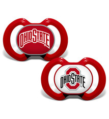 Ohio State Buckeyes Team Logo Baby Pacifier - 2 Pack