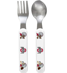 Ohio State University Baby Fork and Spoon Set