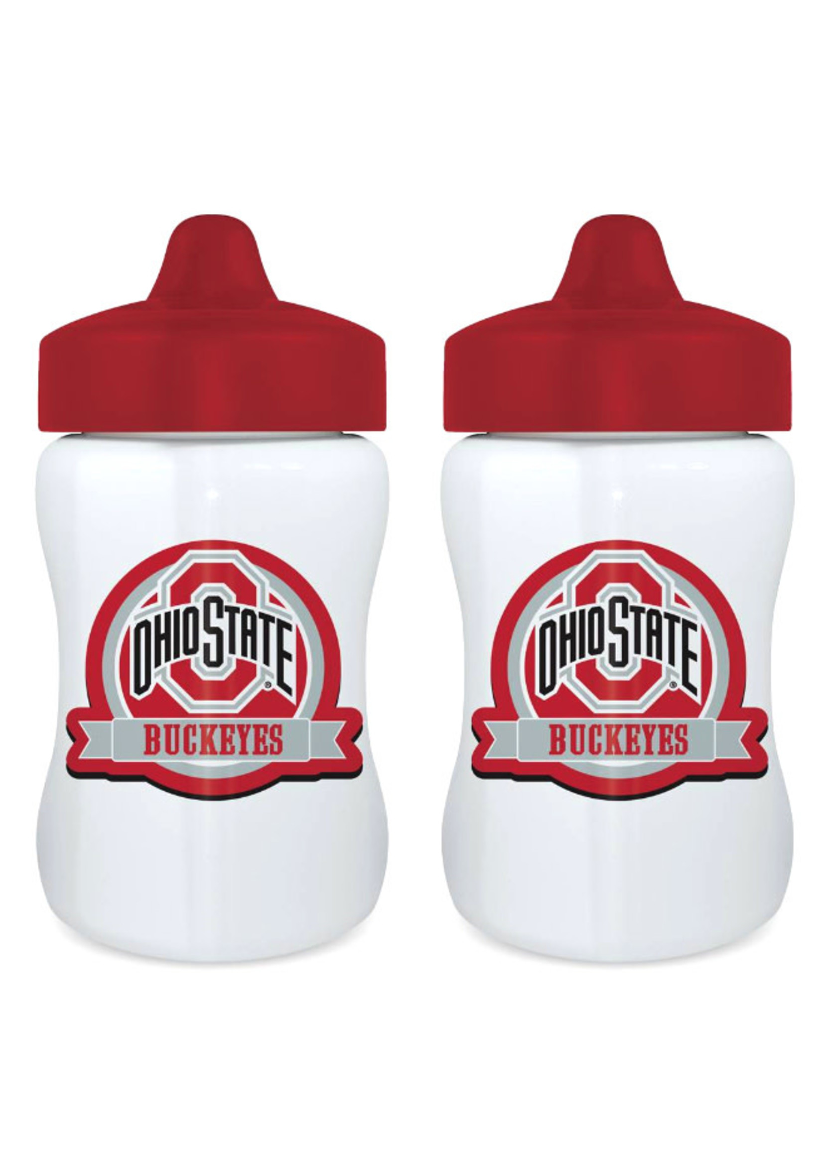 Ohio State Buckeyes 2-Pack Sippy Cups