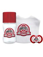 Ohio State Buckeyes Baby 3 Piece Gift Set