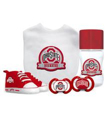 Ohio State Buckeyes Infant 5-Piece Gift Set