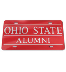 Wincraft Ohio State Buckeyes Alumni Acrylic Front License Plate