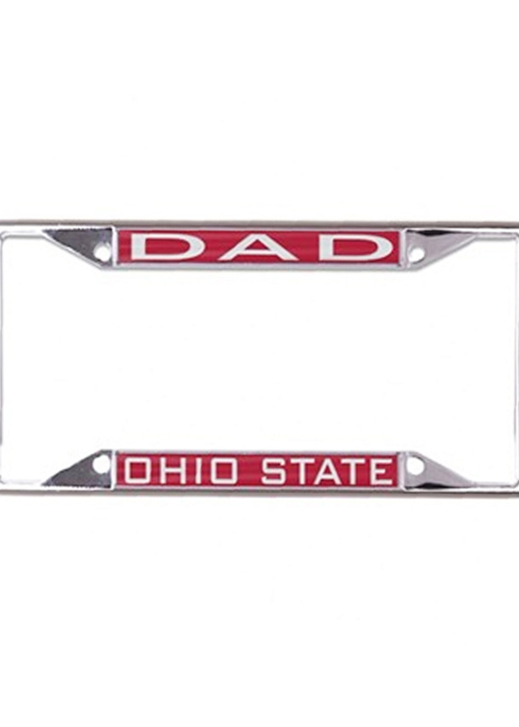 """Wincraft Ohio State Buckeyes """"Dad"""" License Plate Frame"""