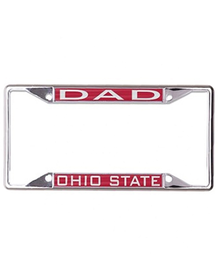 "Wincraft Ohio State Buckeyes ""Dad"" License Plate Frame"