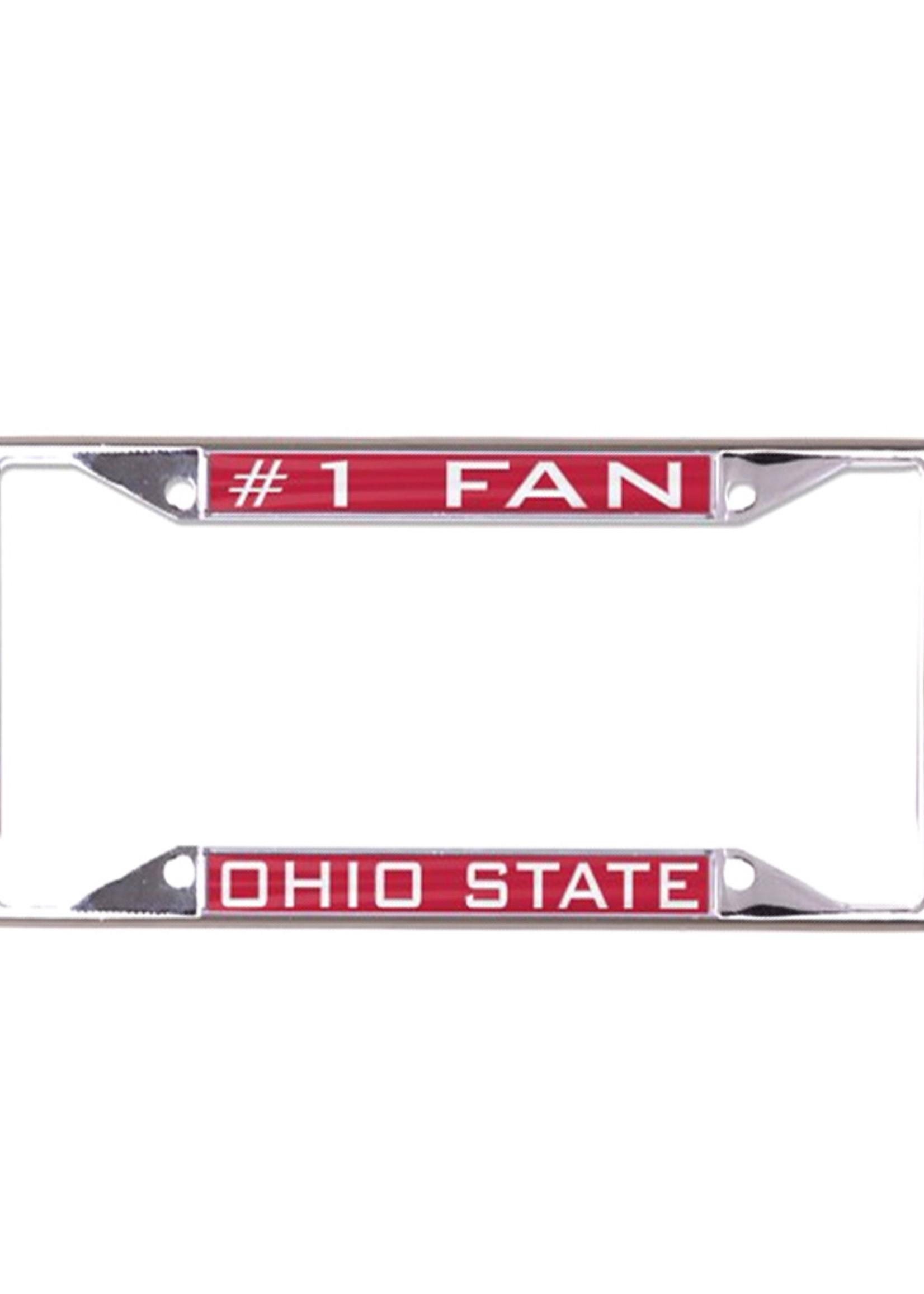 Wincraft Ohio State Buckeyes #1 Fan License Plate Frame