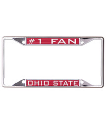 Wincraft Ohio State Buckeyes #1 Fan License Plate Frame