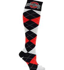 Ohio State Buckeyes Argyle Socks
