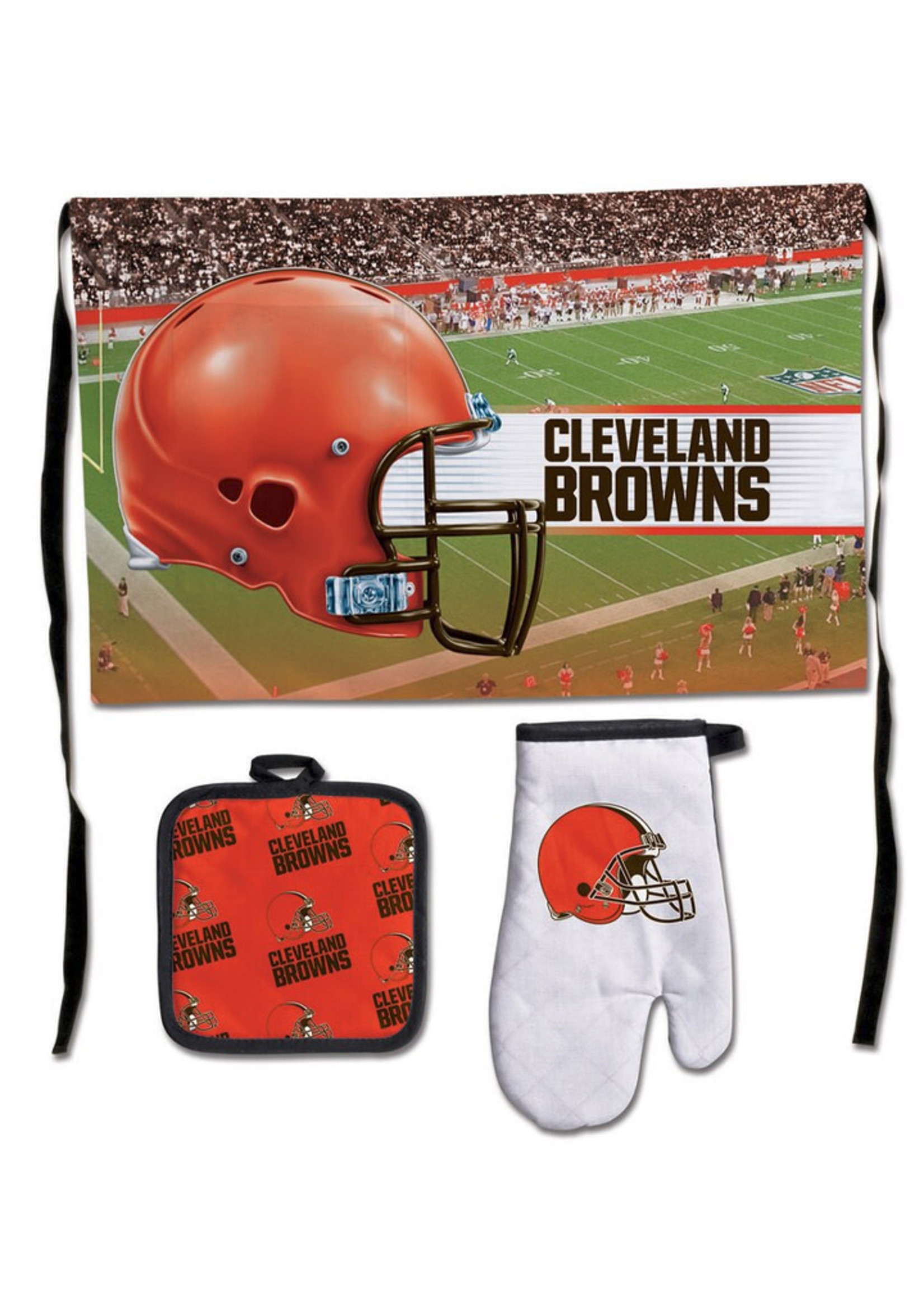 Wincraft Cleveland Browns 3-Piece Barbecue Set