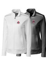 Cutter & Buck Ohio State University Women's Weathertec Ridge Full Zip Jacket