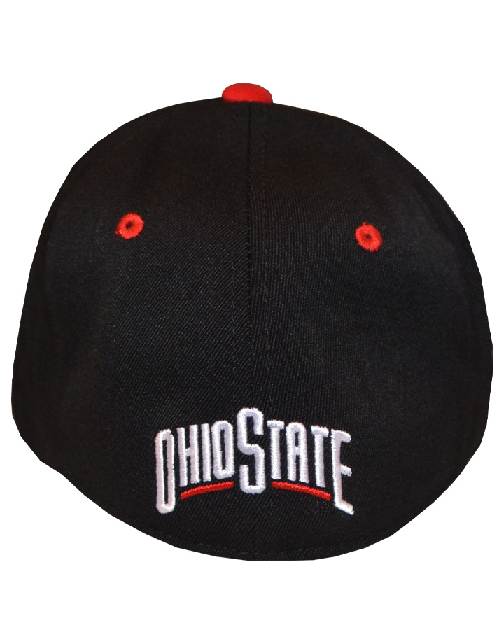 Top of the World Ohio State Buckeyes Memory Fit Block O Hat