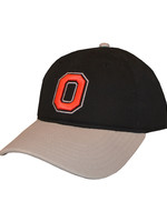 Top of the World Ohio State Buckeyes Black/Gray Adjustable Hat