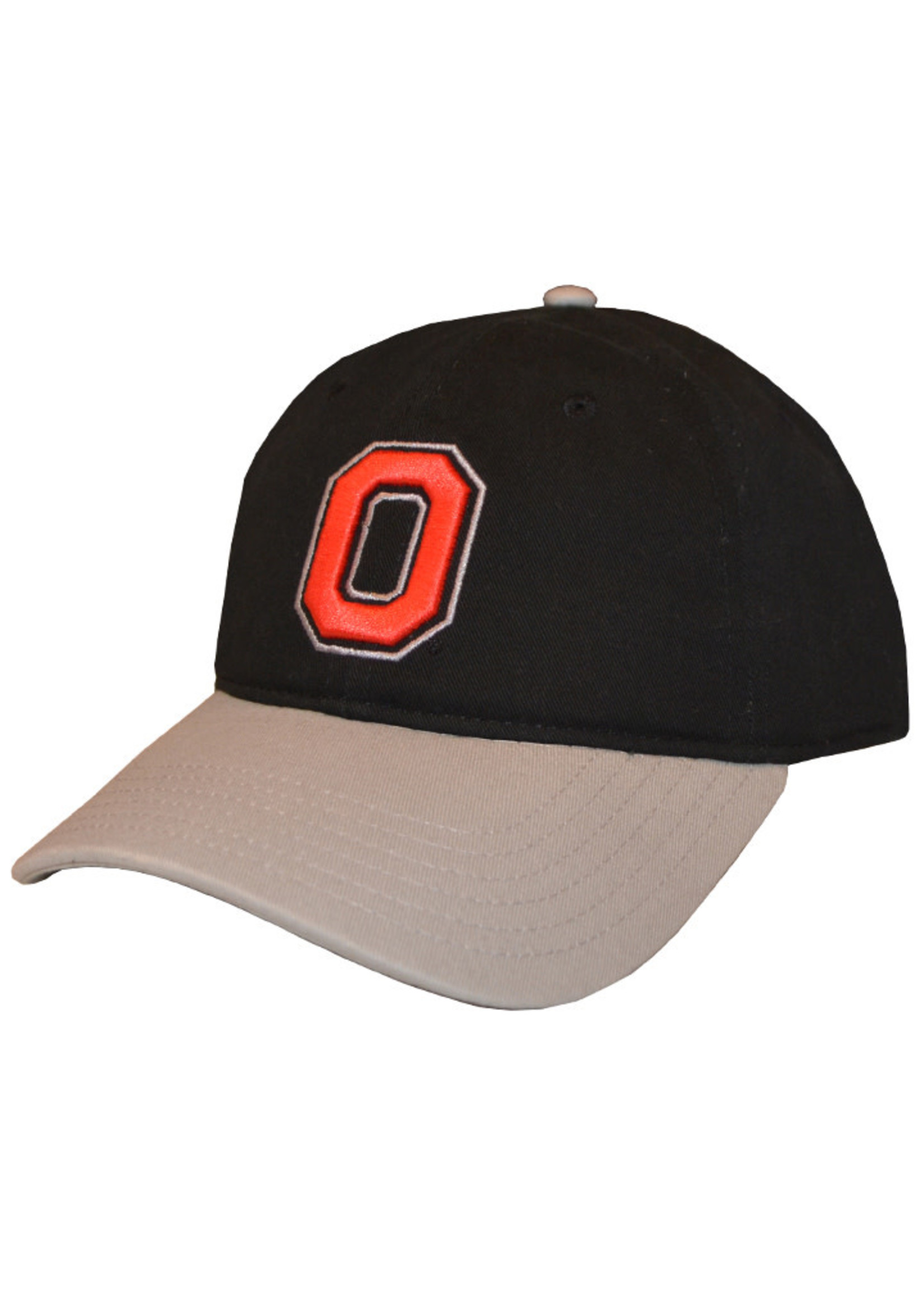 Top of the World Ohio State Buckeyes Black/Gray Adjustable Hat