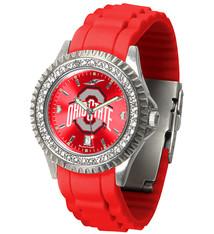 Ohio State Buckeyes Men's Sparkle Watch